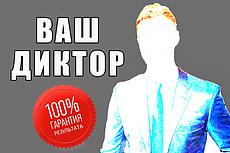 Диктор, озвучка персонажей компьютерных игр, анимаций, приложений 10 - kwork.ru