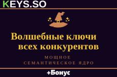 Ключевые слова конкурентов (WebSite Auditor) - готовое СЯ для Вас 38 - kwork.ru
