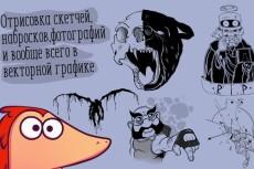 Нарисую чб арт или минималистичный арт 28 - kwork.ru
