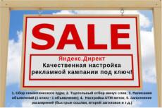 Настрою рекламную кампанию в Яндекс Директ (100 объявлений на 100 ключевых слов) 7 - kwork.ru