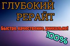 Рерайтер, услуги рерайтинга 3 - kwork.ru