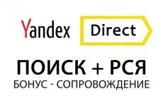 Настройка и ведение рекламной компании в Яндекс Директ, РСЯ 23 - kwork.ru