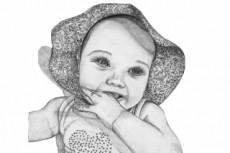 Портрет карандашом 22 - kwork.ru