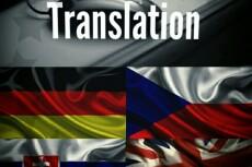 Перевод с чешского на русский 8 - kwork.ru