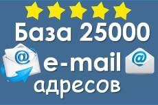 100% качественная рассылка по e-mail 18 - kwork.ru