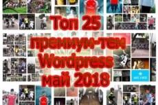 Премиум шаблон WordPress BeOnePage 32 - kwork.ru