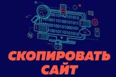 Сделаю копию любого лендинга или страницы сайта и установлю на хостинг 14 - kwork.ru
