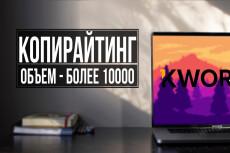 Выполню копирайт до 4000 знаков без пробелов 19 - kwork.ru