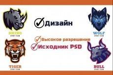 Создам эксклюзивный и стильный логотип 8 - kwork.ru