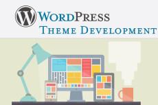 Натяну шаблон на Wordpress 8 - kwork.ru