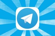 Настрою отправку данных с WEB-формы вам в Telegram 5 - kwork.ru