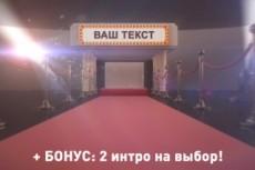 Монтаж ваших материалов для видеороликов 28 - kwork.ru