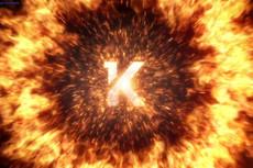 Сделаю 1 видео-визуализацию вашего логотипа или текста 34 - kwork.ru