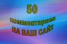Размещу 40 развернутых комментариев на любом сайте 6 - kwork.ru