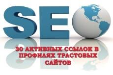 Пирамида ссылок на ваш сайт из 500 профилей и 500 сообщений на них 9 - kwork.ru