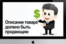 Описание товаров для интернет-магазинов 16 - kwork.ru