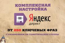 Настройка РСЯ в Яндекс.Директ 17 - kwork.ru