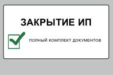 Подготовка документов для регистрации  ИП 20 - kwork.ru