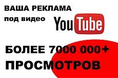 Реклама в начале моего видео в пре-ролл на Youtube 4 - kwork.ru