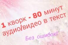 Наберу текст - 13000 символов 3 - kwork.ru