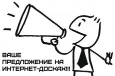 Размещу ваше объявление на 80 популярных досках объявлений Украины 22 - kwork.ru