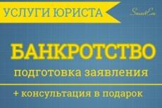 Консультация по банкротству физических лиц 3 - kwork.ru