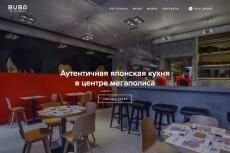 Дизайн лэндинга 11 - kwork.ru