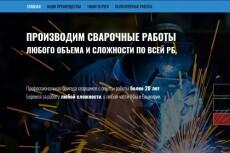 Создам современный дизайн для вашего лендинга 31 - kwork.ru