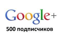 250 подписчиков или вступлений в сообщество Google+ гугл 17 - kwork.ru