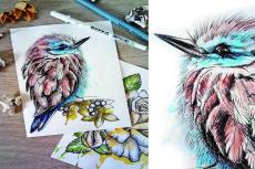 Нарисую изображение акварелью 20 - kwork.ru