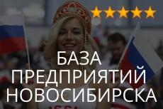 Базы для рассылки и обзвона по городам и сферам деятельности 14 - kwork.ru