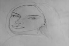 Нарисую портрет карандашом с фотографии 32 - kwork.ru