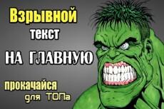 SEO-тексты с полной оптимизацией под ПС. Выход в ТОП 23 - kwork.ru