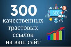 Размещу 899+ вечных трастовых ссылок с тИЦ от 10 до 450 6 - kwork.ru