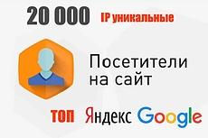 3050 посетителей на ваш сайт плюс 25 рекламных постов в группах ВК 3 - kwork.ru