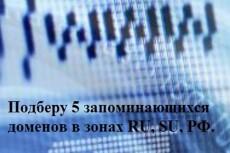 Домен .ru или .рф на ваше имя или организацию 3 - kwork.ru