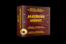 Сделаю вам 3D обложку книги, курса или инфопродукта в 3D 10 - kwork.ru