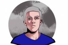 Нарисую аниме арт 57 - kwork.ru