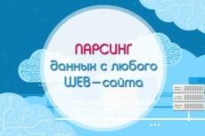 Ручной сбор контактных данных компаний email, сайты, телефоны, адреса 24 - kwork.ru