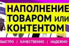 Добавлю в интернет-магазин 50 товаров 7 - kwork.ru