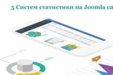 Подключу статистику на сайт (5 сервисов) 5 - kwork.ru