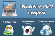 Наполнение контентом сайта или магазина на Битрикс, WordPress, Jumla 9 - kwork.ru