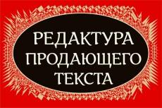 Сделаю из текста конфетку. Редактура и корректура любого текста 17 - kwork.ru