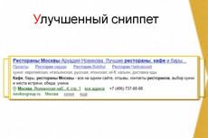 Продвижение в Яндексе 19 - kwork.ru