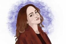 Нарисую векторный портрет по фотографии 24 - kwork.ru