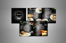 Выполню дизайн вашего меню 25 - kwork.ru