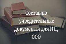 Подготовлю документы для регистрации ИП и ООО 10 - kwork.ru