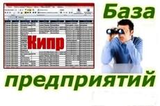 База предприятий Читы и Забайкальского края 18926 контактов 21 - kwork.ru