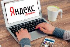 Настройка Яндекс Директ. 50 ключевых слов. Поиск, РСЯ 6 - kwork.ru