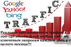 Посетители на сайт 1000 человек по ключевым запросам 4 - kwork.ru